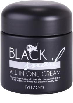 Mizon Black Snail All in One крем за лице  с филтрат на охлювен секрет 90%