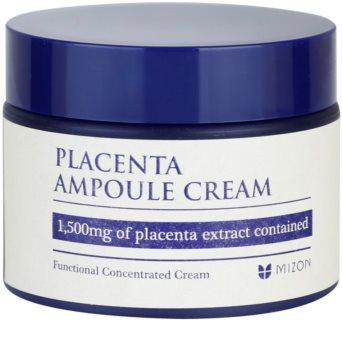 Mizon Placenta Ampoule Cream Cream For Regeneration And Skin Renewal