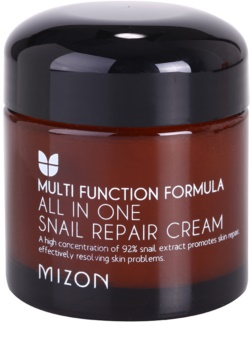 Mizon Multi Function Formula Snail Herstellende Crème  met Slak Secretie Filtraat 92%