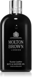 Molton Brown Russian Leather parfümös tusfürdő