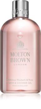Molton Brown Rhubarb&Rose osvěžující sprchový gel