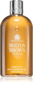 Molton Brown Suede Orris съживяващ душ гел