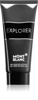 Montblanc Explorer τζελ για ντους για σώμα και μαλλιά για άντρες
