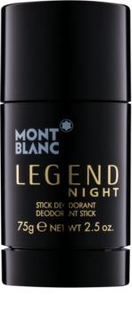 Montblanc Legend Night deodorante stick per uomo
