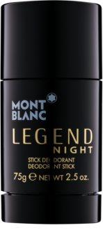Montblanc Legend Night dezodorant w sztyfcie dla mężczyzn