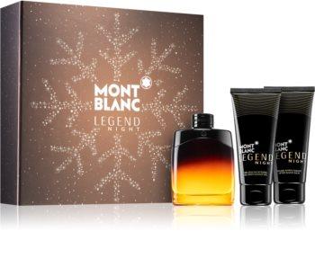 Montblanc Legend Night zestaw upominkowy III. dla mężczyzn