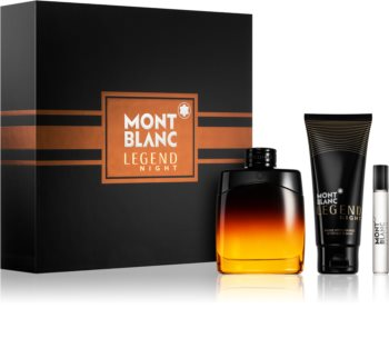 Montblanc Legend Night Lahjasetti I. Miehille