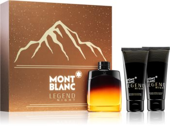 Montblanc Legend Night coffret cadeau III. pour homme