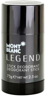 Montblanc Legend desodorante en barra para hombre