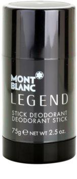 Montblanc Legend desodorizante em stick para homens