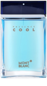 Montblanc Presence Cool Eau de Toilette para homens 75 ml