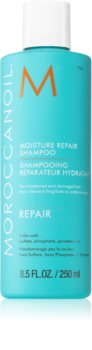 Moroccanoil Repair шампоан  за увредена и химически третирана коса