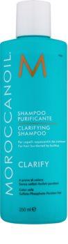 Moroccanoil Clarify champú de limpieza profunda para cabello castigado y dañado
