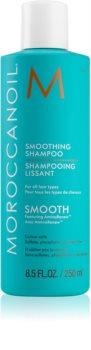 Moroccanoil Smooth obnovujúci šampón pre uhladenie a výživu suchých a nepoddajných vlasov