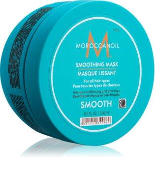 Moroccanoil Smooth megújító maszk a száraz és kezelhetetlen haj egyenesítésére és táplálására