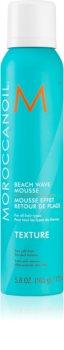 Moroccanoil Texture spumă de păr pentru efect la plaje