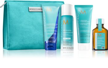 Moroccanoil Color Care Travel Set (For Blondes And Highlighted Hair)