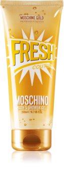 Moschino Gold Fresh Couture gel de dus si baie pentru femei