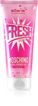 Moschino Pink Fresh Couture Shower And Bath Gel for Women