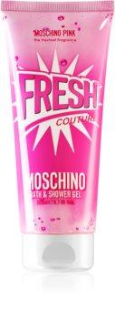 Moschino Pink Fresh Couture tusoló- és fürdőgél hölgyeknek
