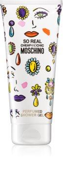 Moschino So Real sprchový a koupelový gel pro ženy