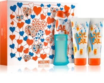 Moschino I Love Love coffret cadeau IV. pour femme