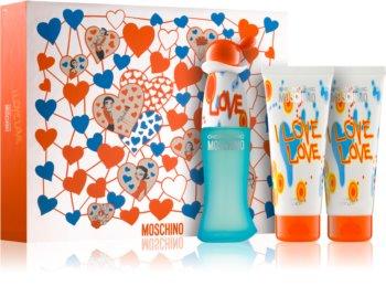 Moschino I Love Love подаръчен комплект IV. за жени