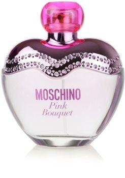 Moschino Pink Bouquet Eau de Toilette para mulheres