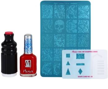 Moyra Nail Art Nail Stamping lote cosmético II.
