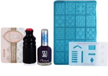 Moyra Nail Art Nail Stamping lote cosmético VII.