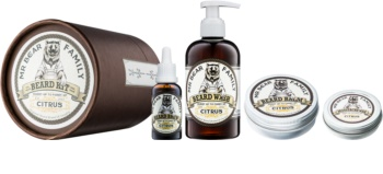 Mr Bear Family Citrus Cosmetic Set I. for Men