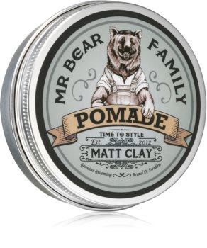 Mr Bear Family Matt Clay pomadă matifiantă pentru păr