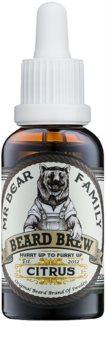 Mr Bear Family Citrus olio da barba