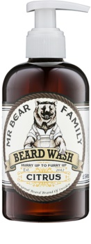 Mr Bear Family Citrus champô para a barba