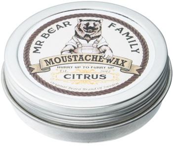 Mr Bear Family Citrus вакса за мустаци