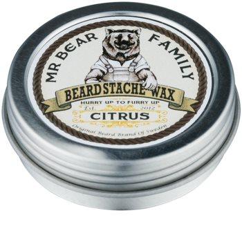 Mr Bear Family Citrus Bartwachs