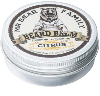 Mr Bear Family Citrus Beard Balm