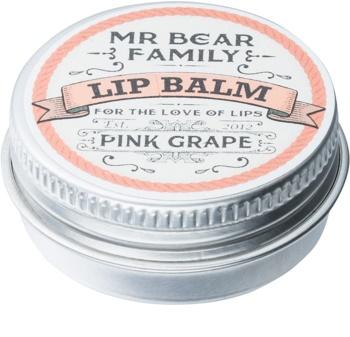 Mr Bear Family Pink Grape Huulirasva Miehille