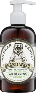 Mr Bear Family Wilderness shampoo per barba
