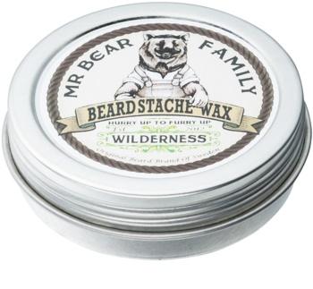 Mr Bear Family Wilderness cera para barba