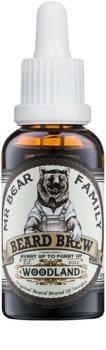 Mr Bear Family Woodland óleo para barba