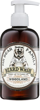 Mr Bear Family Woodland champô para a barba
