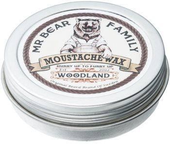 Mr Bear Family Woodland Mustaschvax