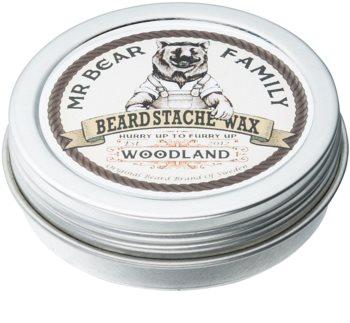 Mr Bear Family Woodland cera para barba