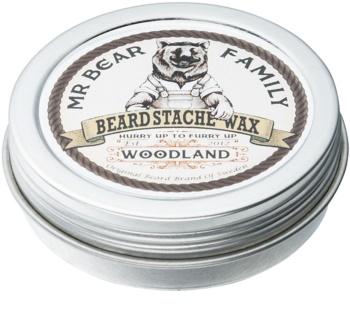 Mr Bear Family Woodland vosk na bradu