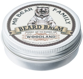 Mr Bear Family Woodland bálsamo para a barba