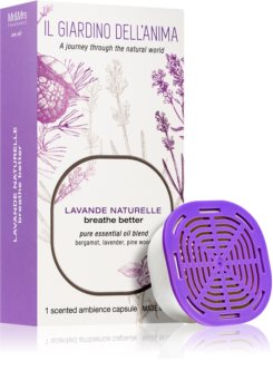 Mr & Mrs Fragrance Il Giardino Dell'Anima Lavande Naturelle refill for aroma diffusers capsules (Breathe better)