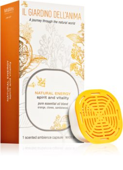 Mr & Mrs Fragrance Il Giardino Dell'Anima Natural Energy ανταλλακτικό για διαχυτές αρώματος κάψουλες (Spirit and Vitality)
