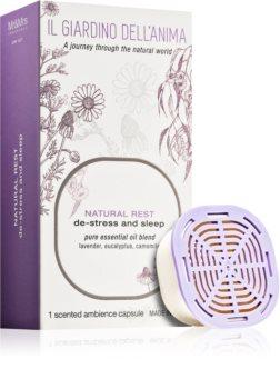 Mr & Mrs Fragrance Il Giardino Dell'Anima Natural Rest punjenje za aroma difuzer kapsule (De-stress and Sleep)