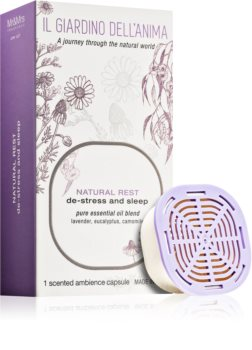Mr & Mrs Fragrance Il Giardino Dell'Anima Natural Rest refill for aroma diffusers capsules (De-stress and Sleep)